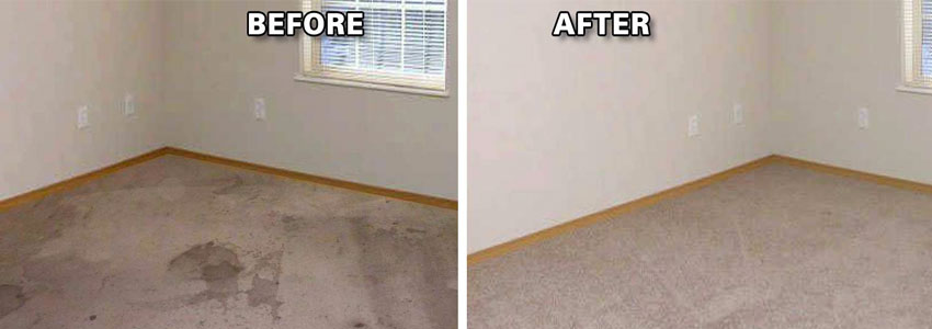 Carpet Flood Water Damage Restoration Russell Island